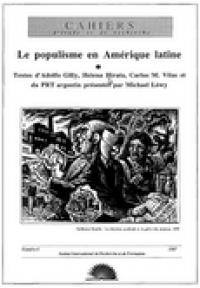 No.06 Le populisme en Amérique latine